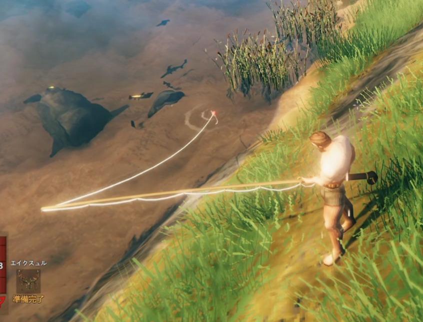 釣り竿の使い方
